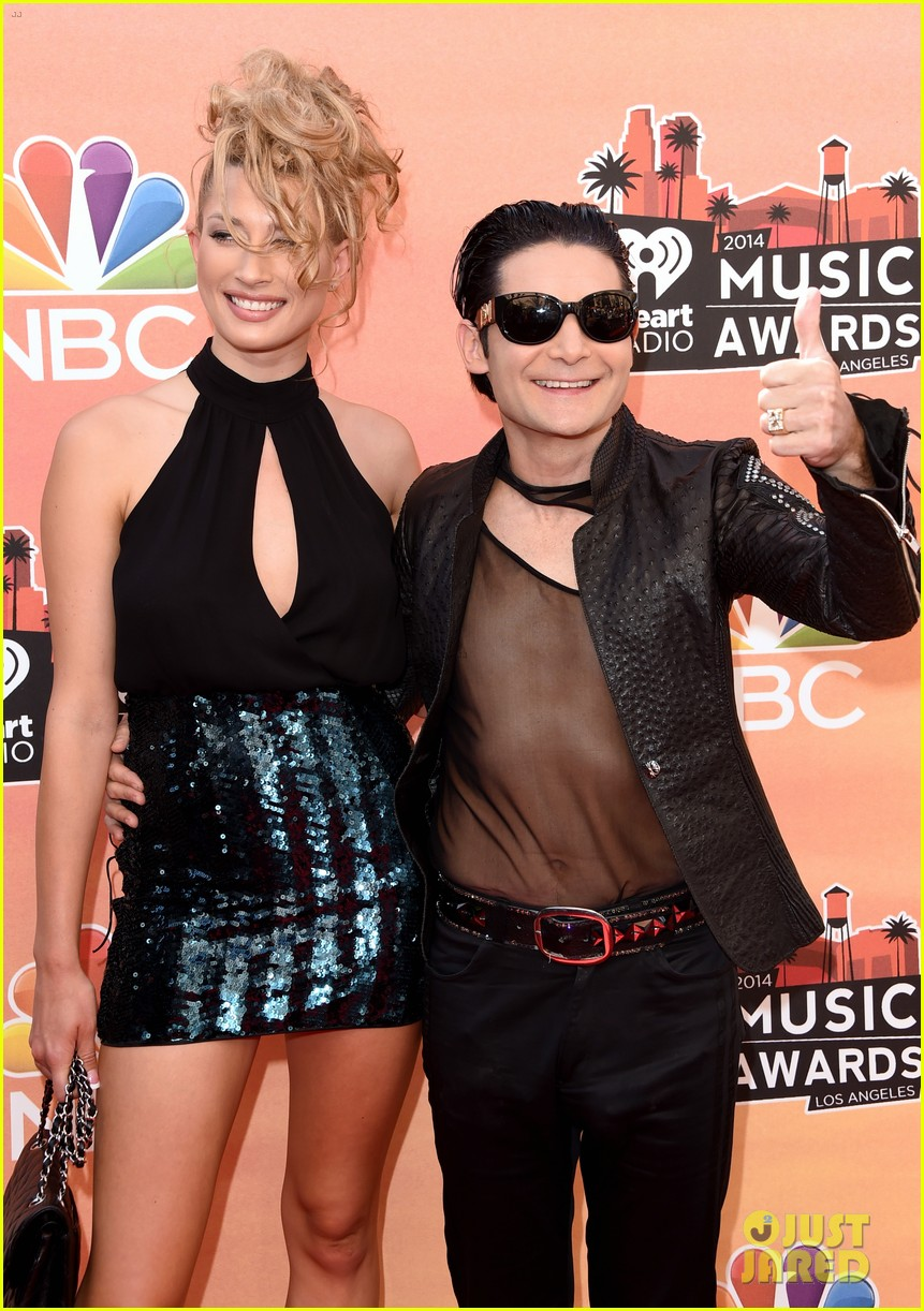 corey feldman iheartradio music awards 2014 063103343