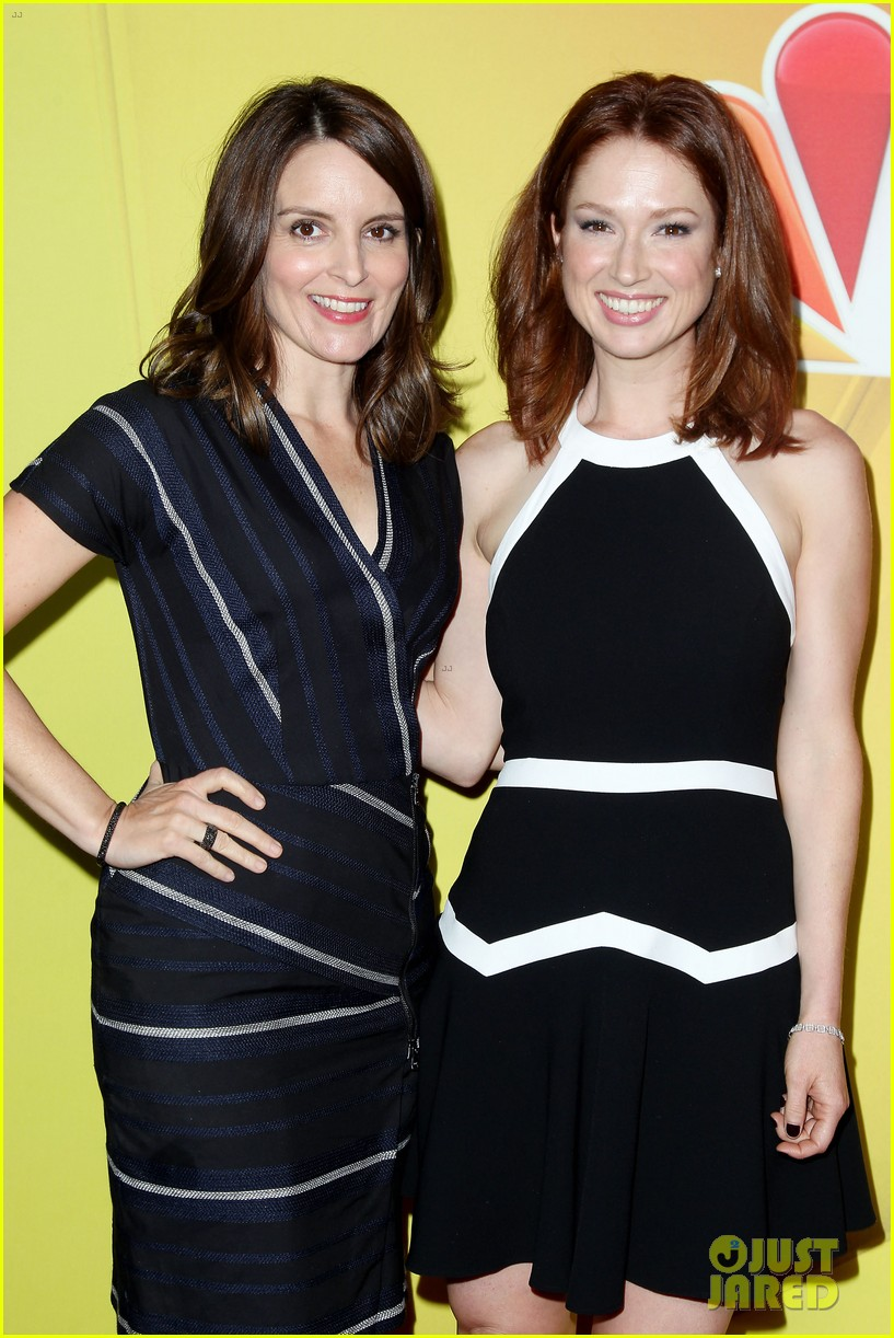 tina fey ellie kemper team up at nbc upfronts 2014 04