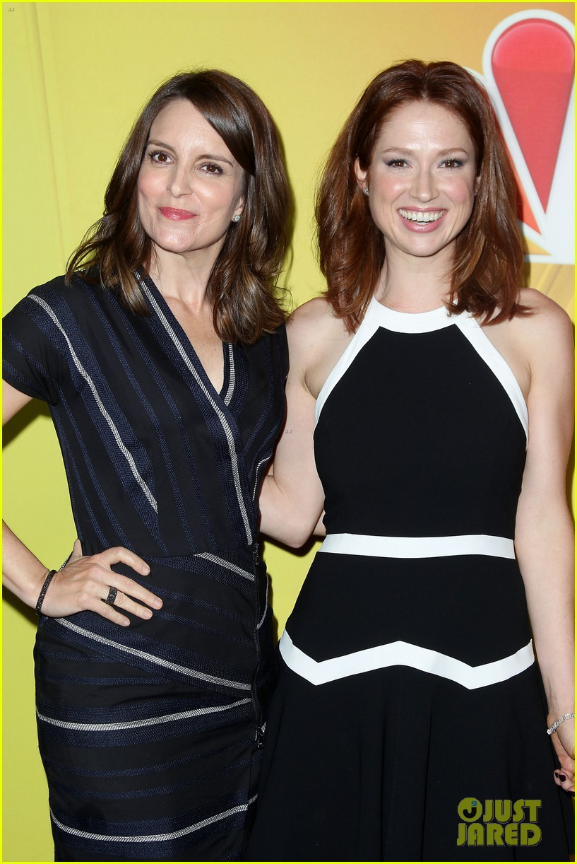 tina fey ellie kemper team up at nbc upfronts 2014 183111644