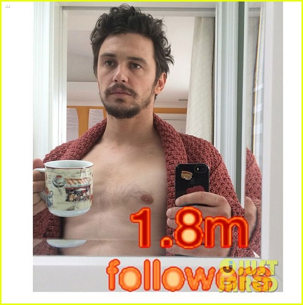 james franco shows more skin than ever on instagram 073103595