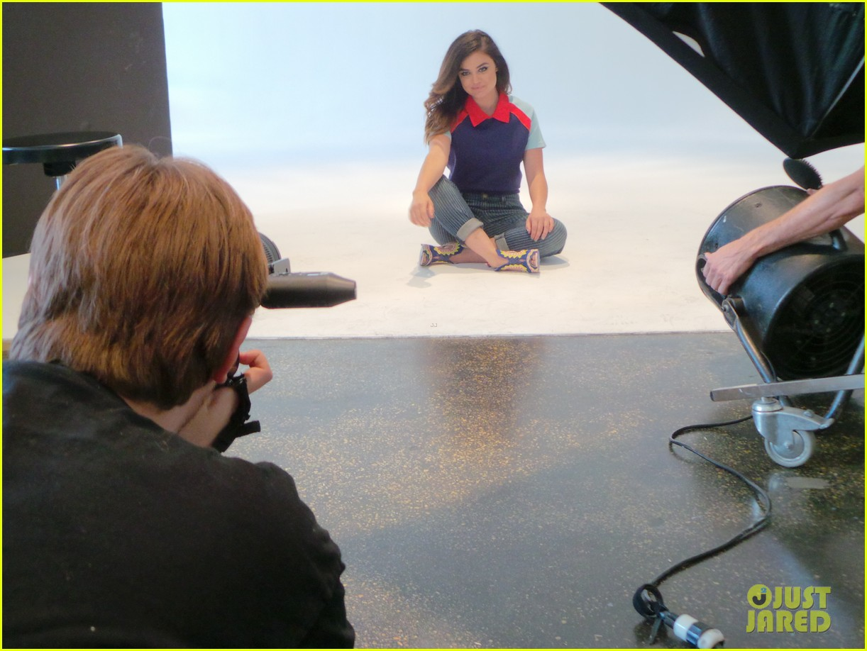 lucy hale jj spotlight behind the scenes 11