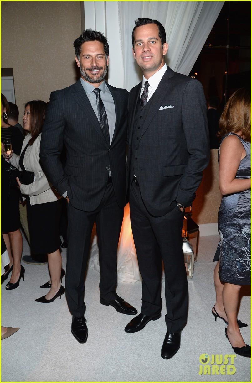 armie hammer joe manganiello suit up for whcd weekend 02