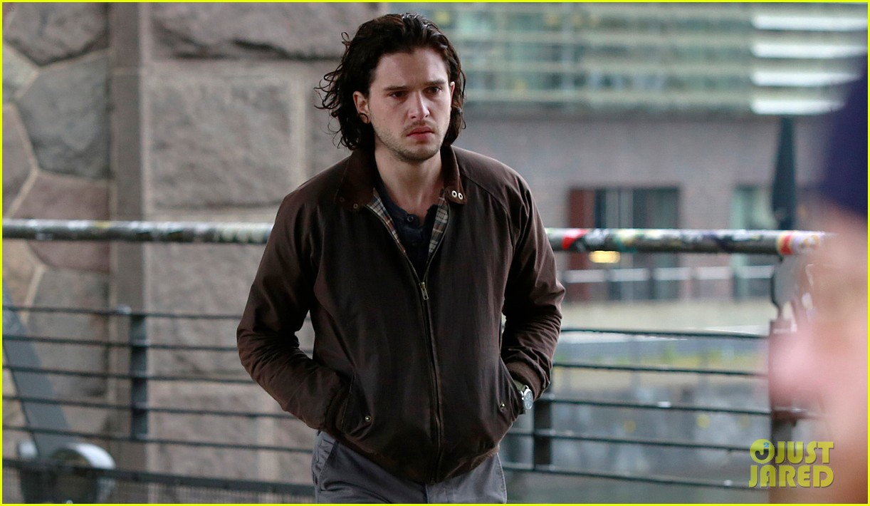 kit harington gets the major chills on spooks the greater good set 02