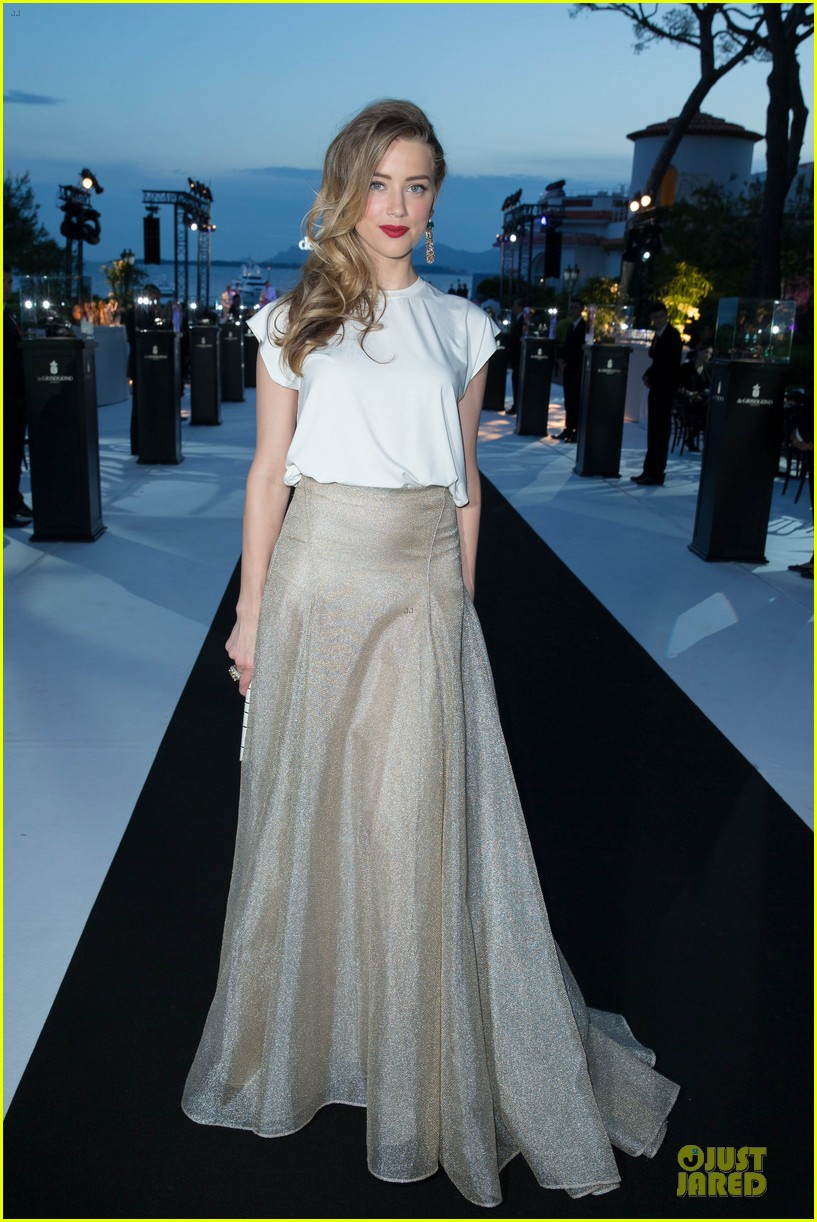 amber heard rosario dawson de grisogono cannes party 12