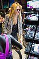 erin heatherton tries on some sleek shades oakley store opening 02