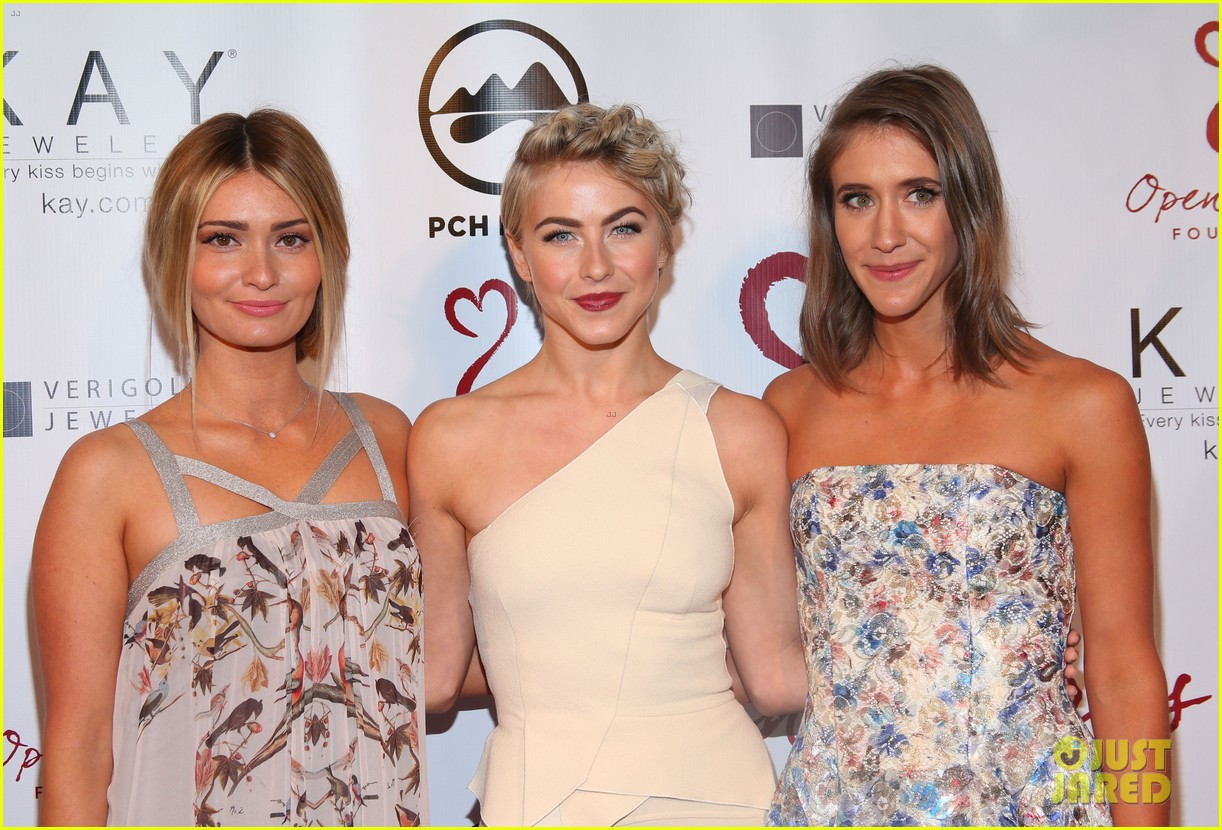 julianne hough brooks laich open hearts gala 073110973