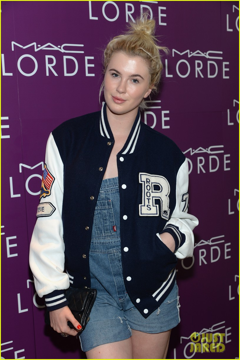 ireland baldwin queen lorde mac cosmetics launch 05