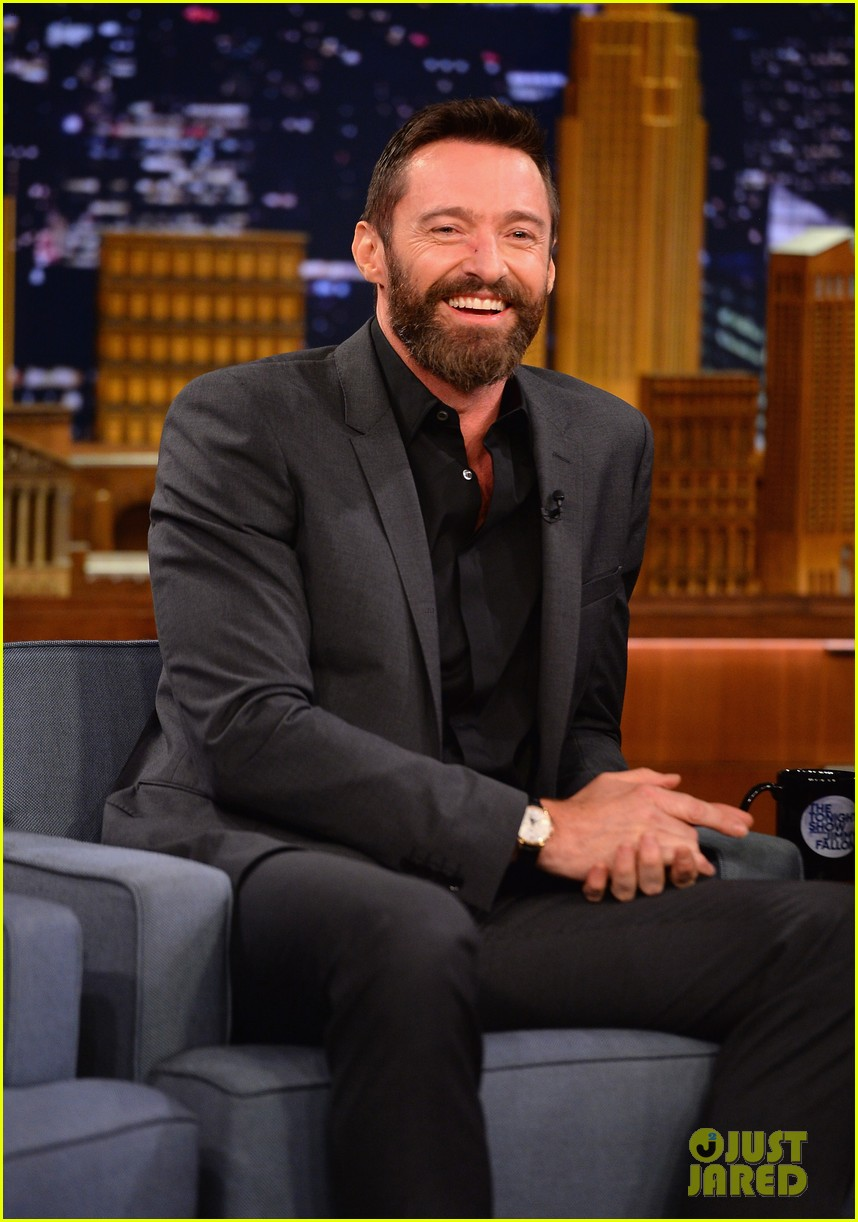 hugh jackman cooler scooter race with jimmy fallon 243119428