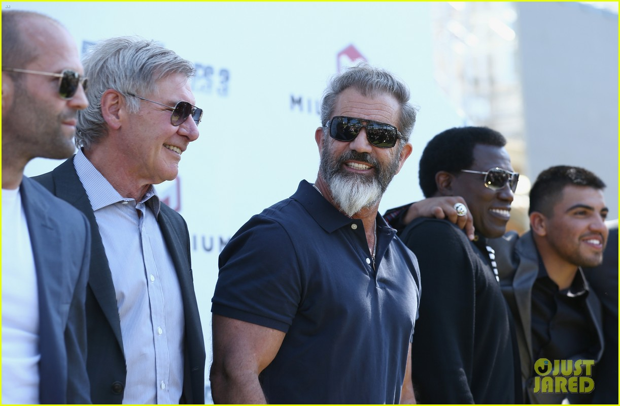 jason statham star studded expendables 3 photo call 203116540