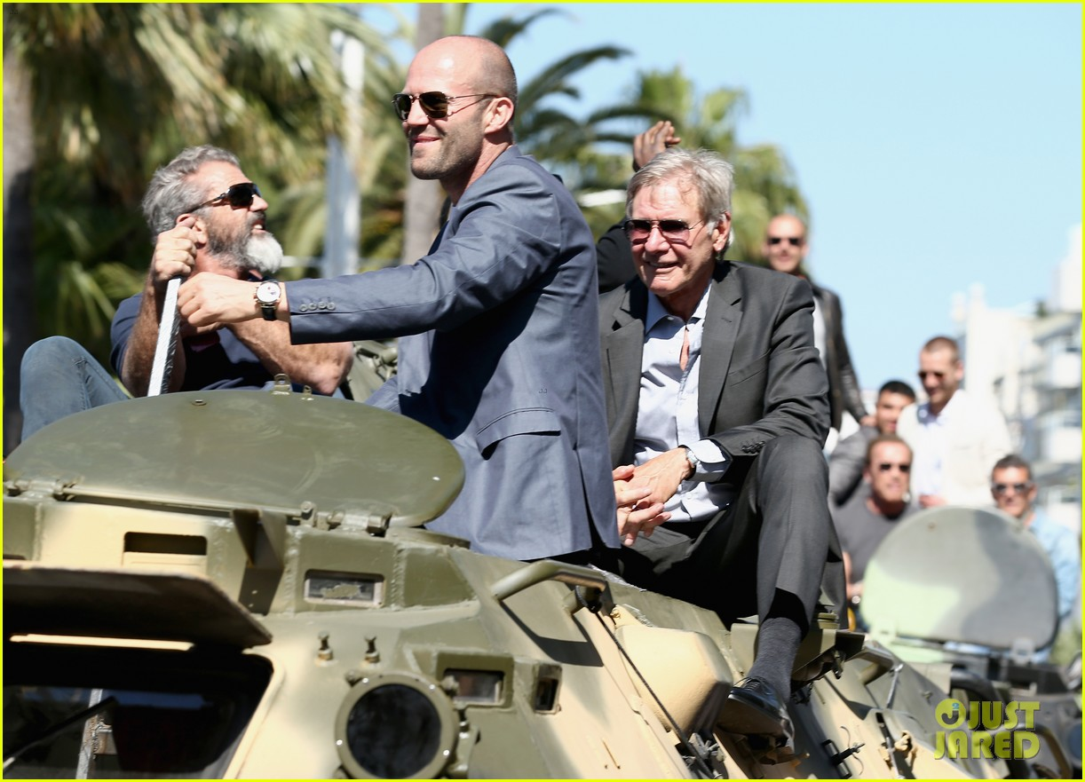 jason statham star studded expendables 3 photo call 23