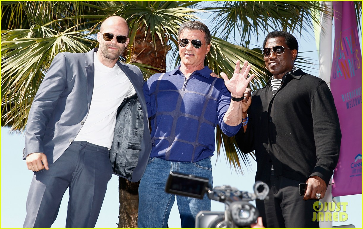 jason statham star studded expendables 3 photo call 27