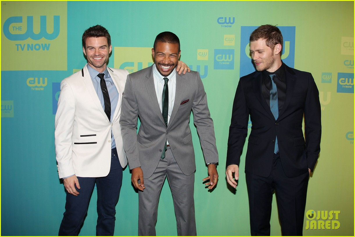 joseph morgan phoebe tonkin the originals cw upfronts 15