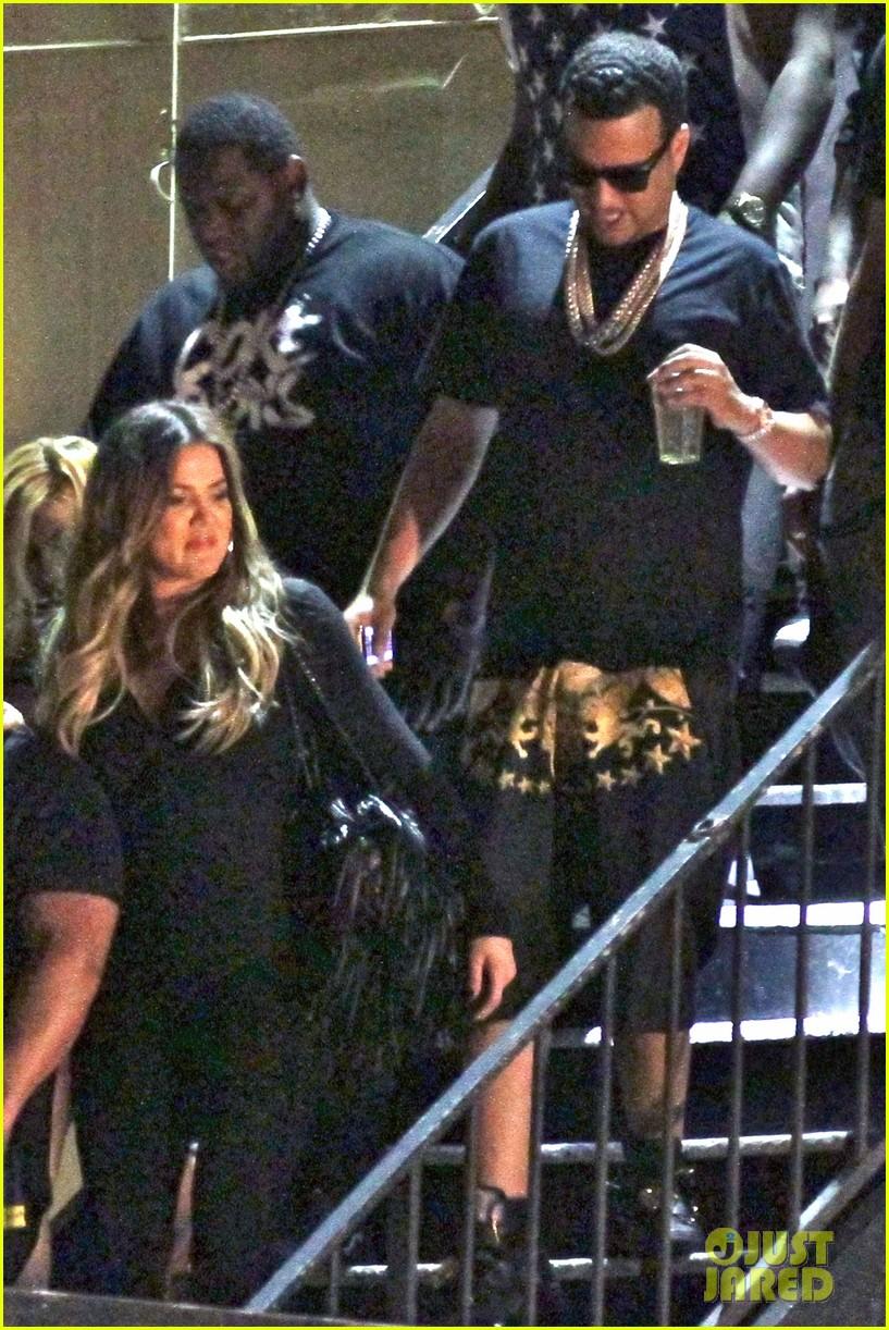 kim kardashian joins khloe to support french montana 053113370