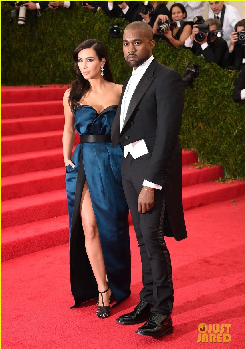 kim kardashian kanye west met ball 2014 033106125