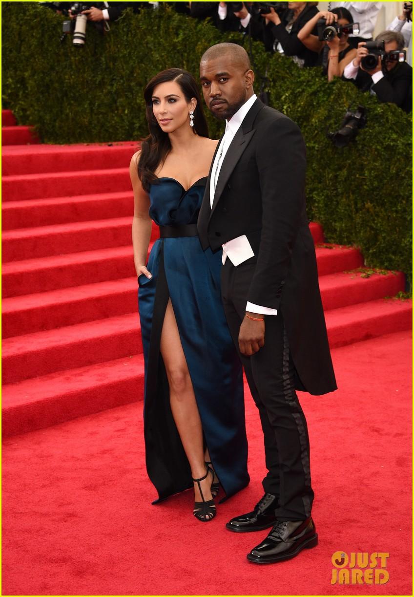 kim kardashian kanye west met ball 2014 073106129