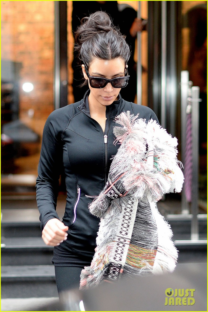 kim kardashian wears tight leather dress for pre wedding shopping 113119798