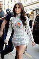 kim kardashian changes into sexy short dress 08