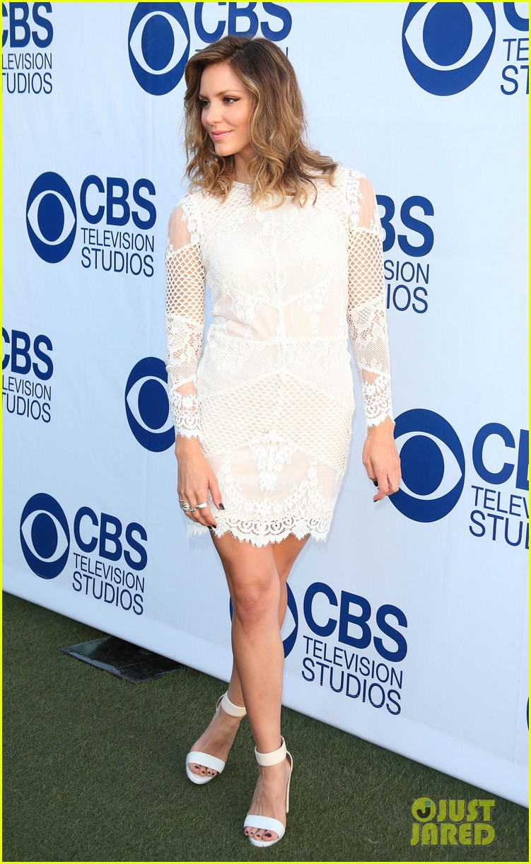 katharine mcphee cam gigandet celebrate new cbs shows 11