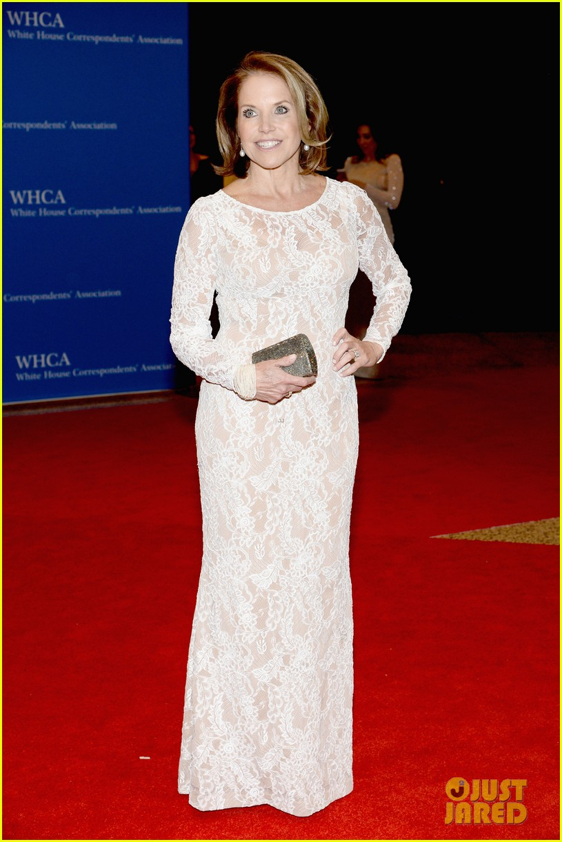 katie couric diane sawyer report white house correspondents dinner 103104891