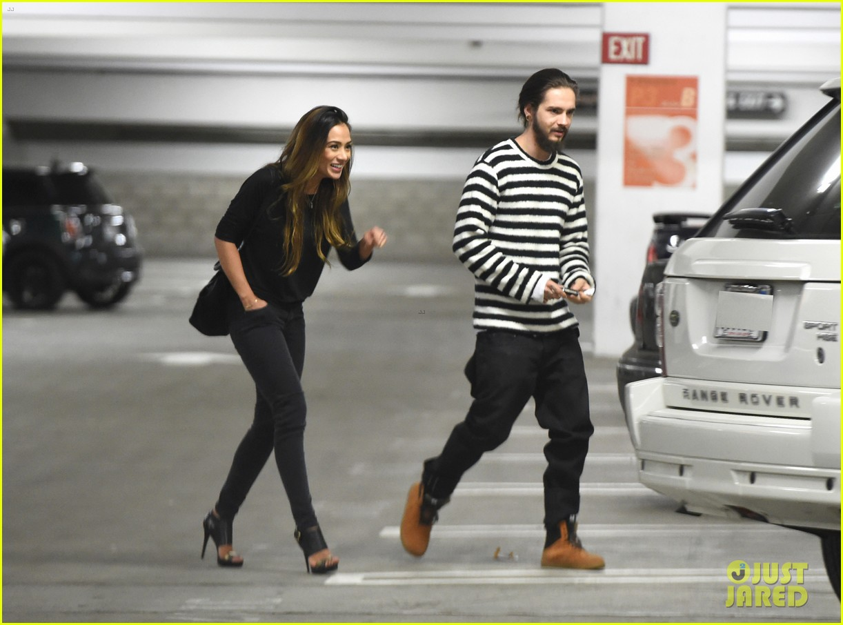 tom kaulitz movie date night with girlfriend ria sommerfeld 04