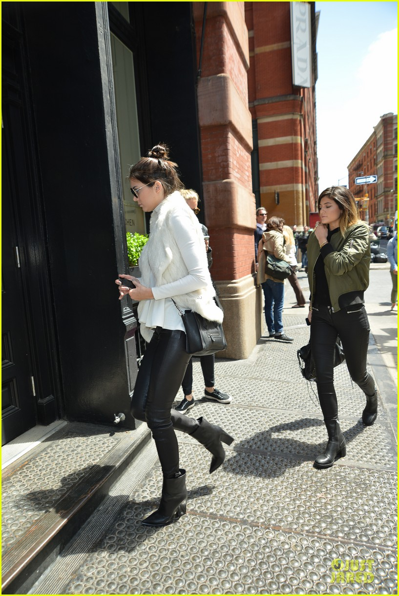kendall kylie jenner boots in soho 12