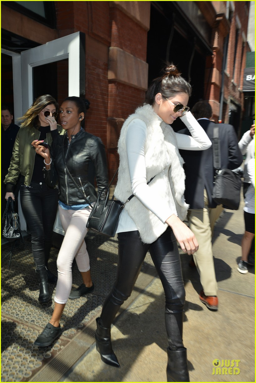 kendall kylie jenner boots in soho 14