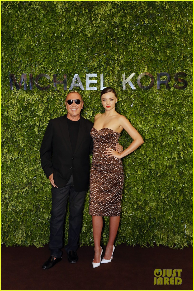 miranda kerr travels to china for michael kors store opening 07