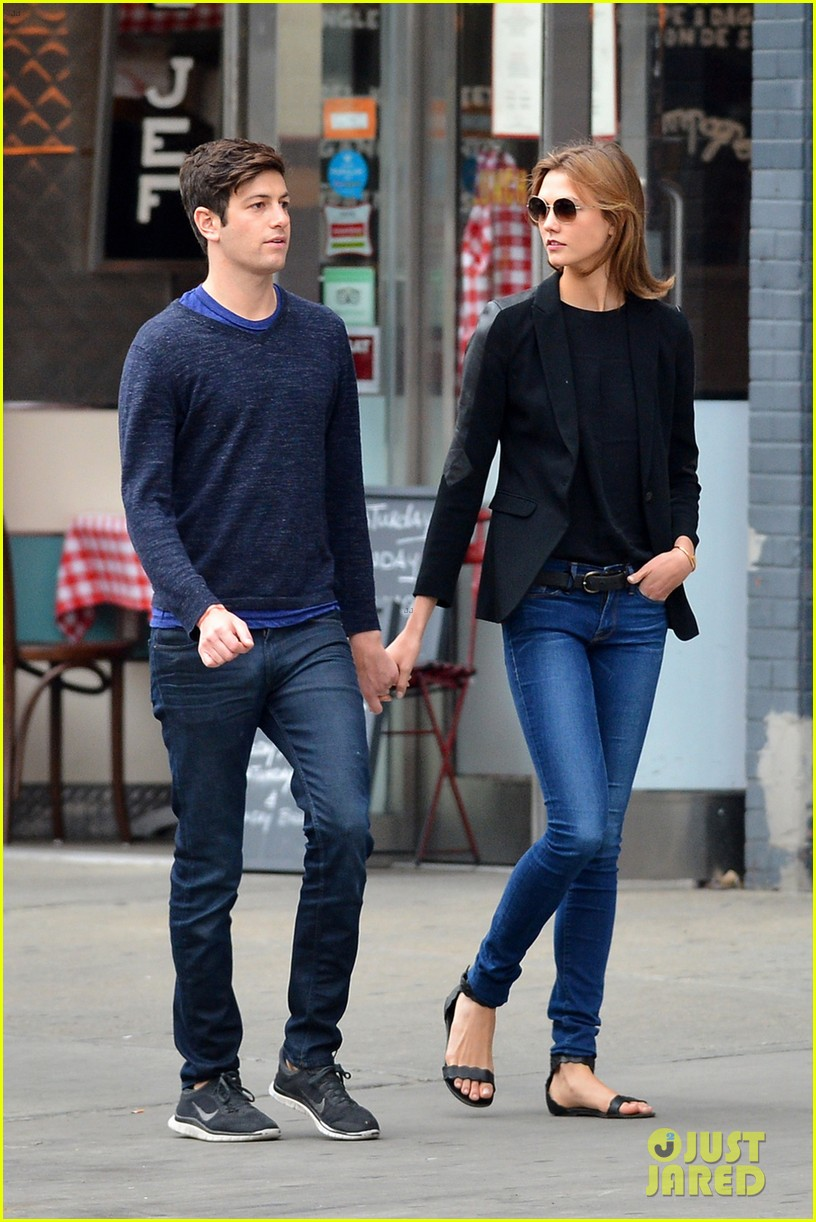 karlie kloss boyfriend joshua kushner nyc denim duo 01