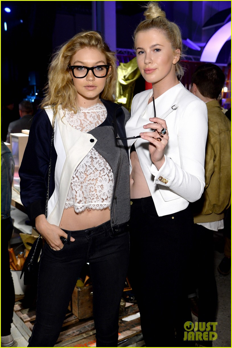zoe kravitz ireland baldwin get shady to help ray ban debut district 1937 10