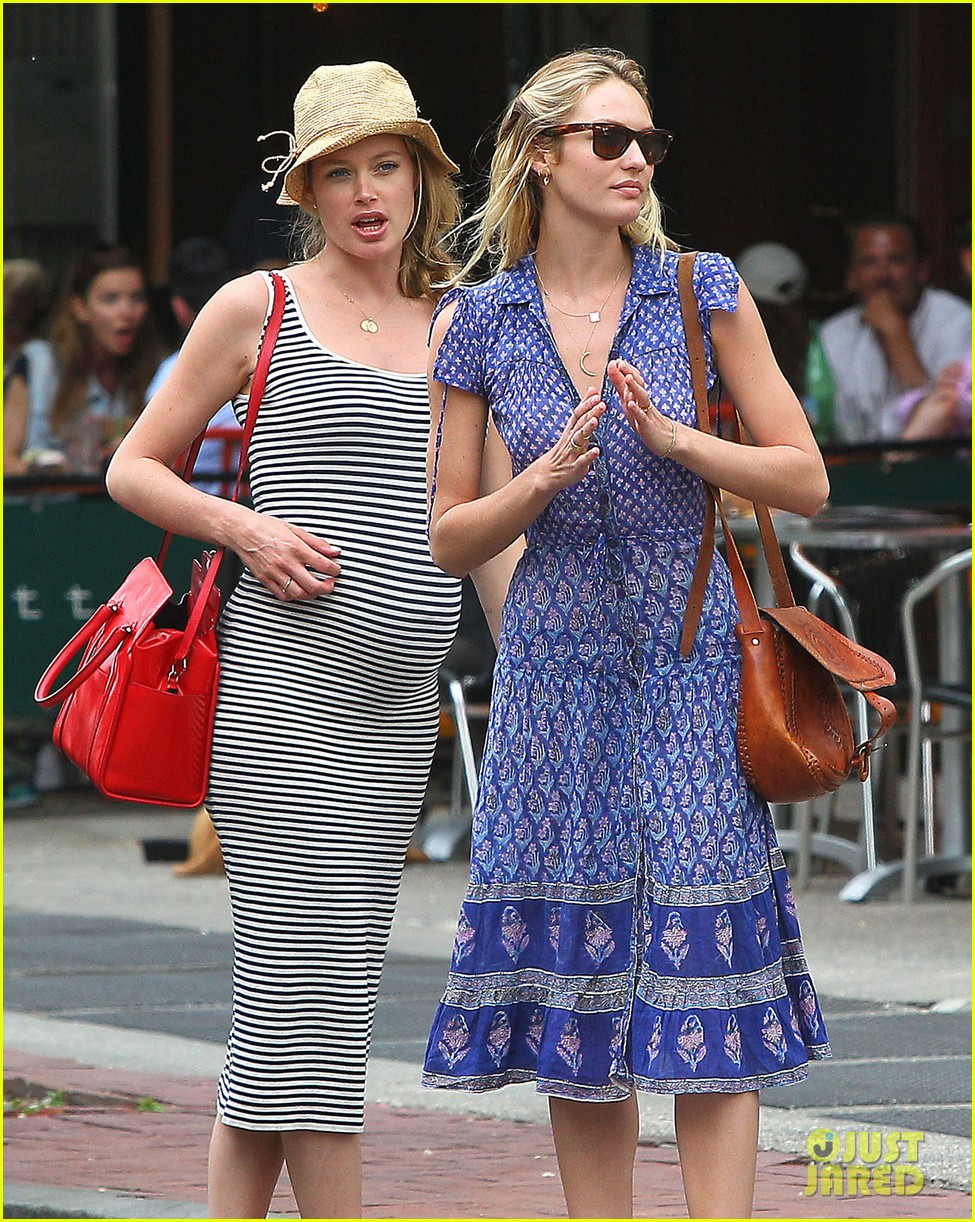 doutzen kroes steps out in nyc with candice swanepoel 06