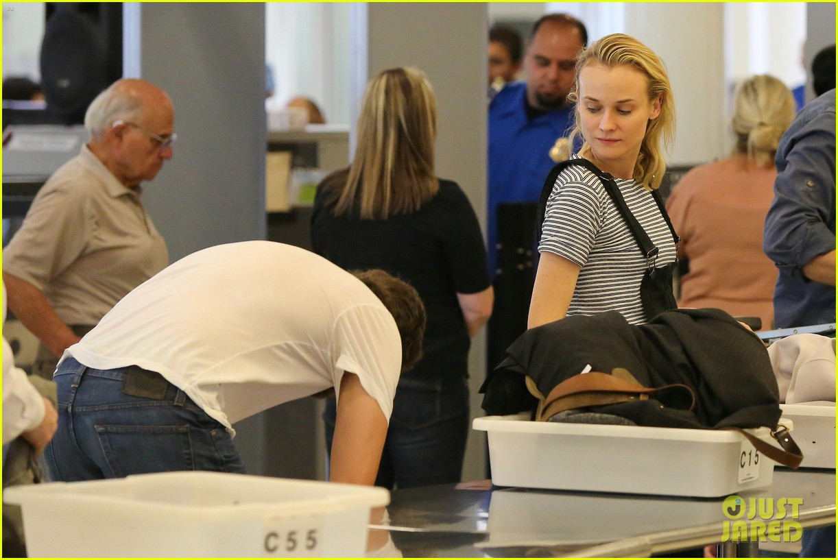 diane kruger joshua jackson take flight at lax 10