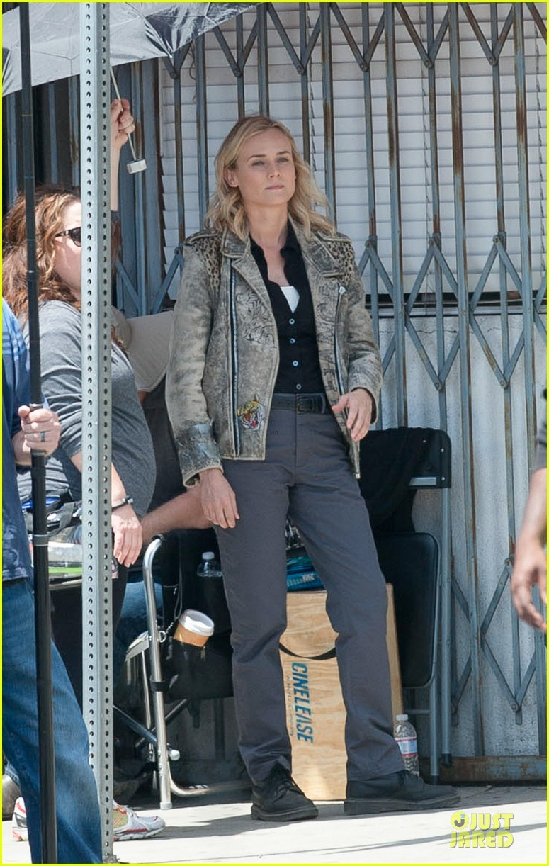 diane kruger shooting bridge second season 06
