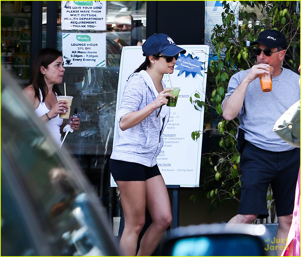 lea michele hike parents funny girl 11