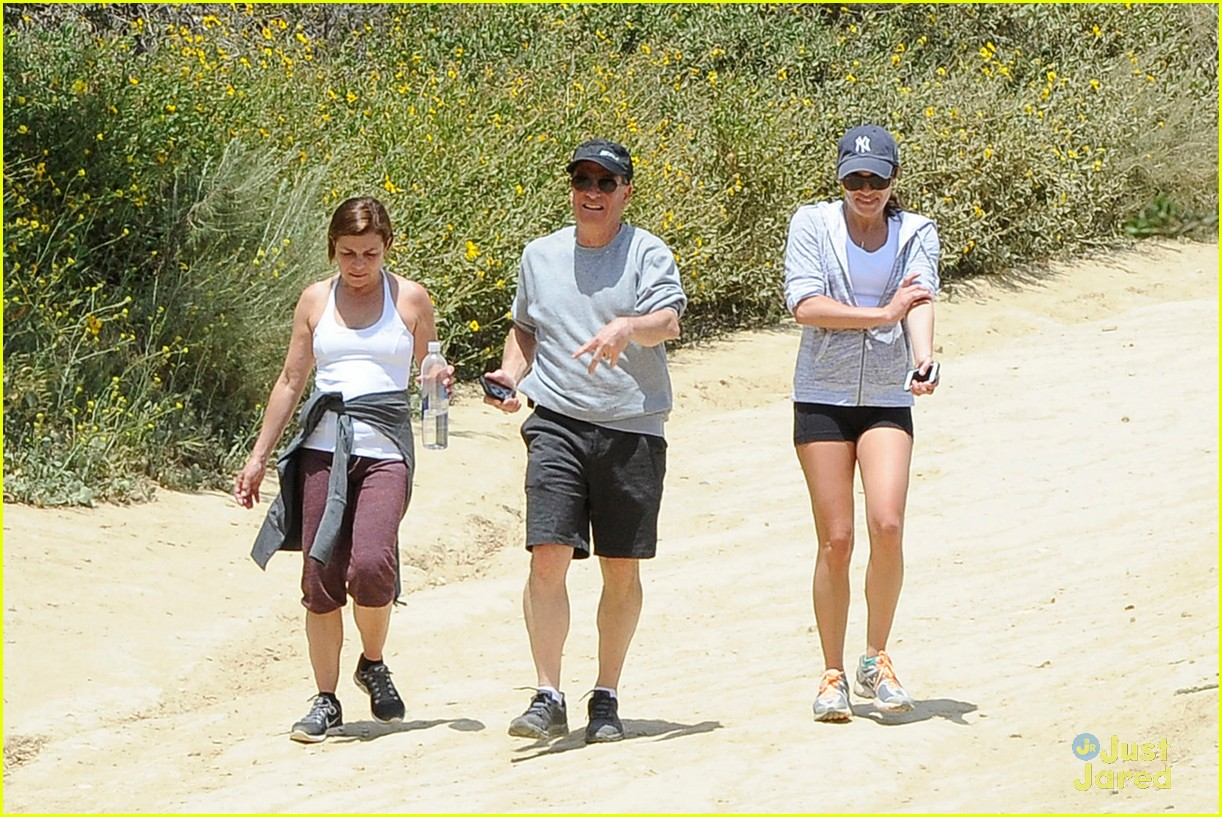 lea michele hike parents funny girl 293109909