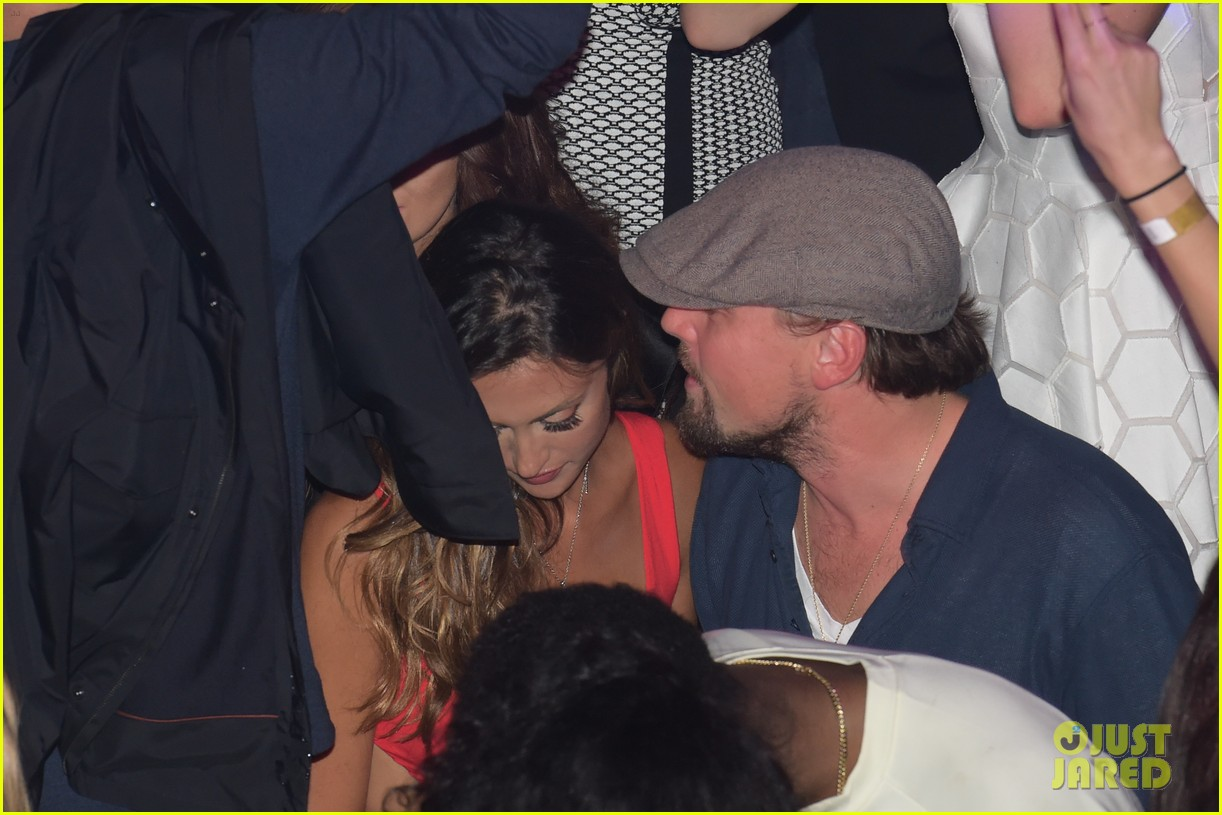 leonardo dicaprio surrounded by ladies at cannes 213118156