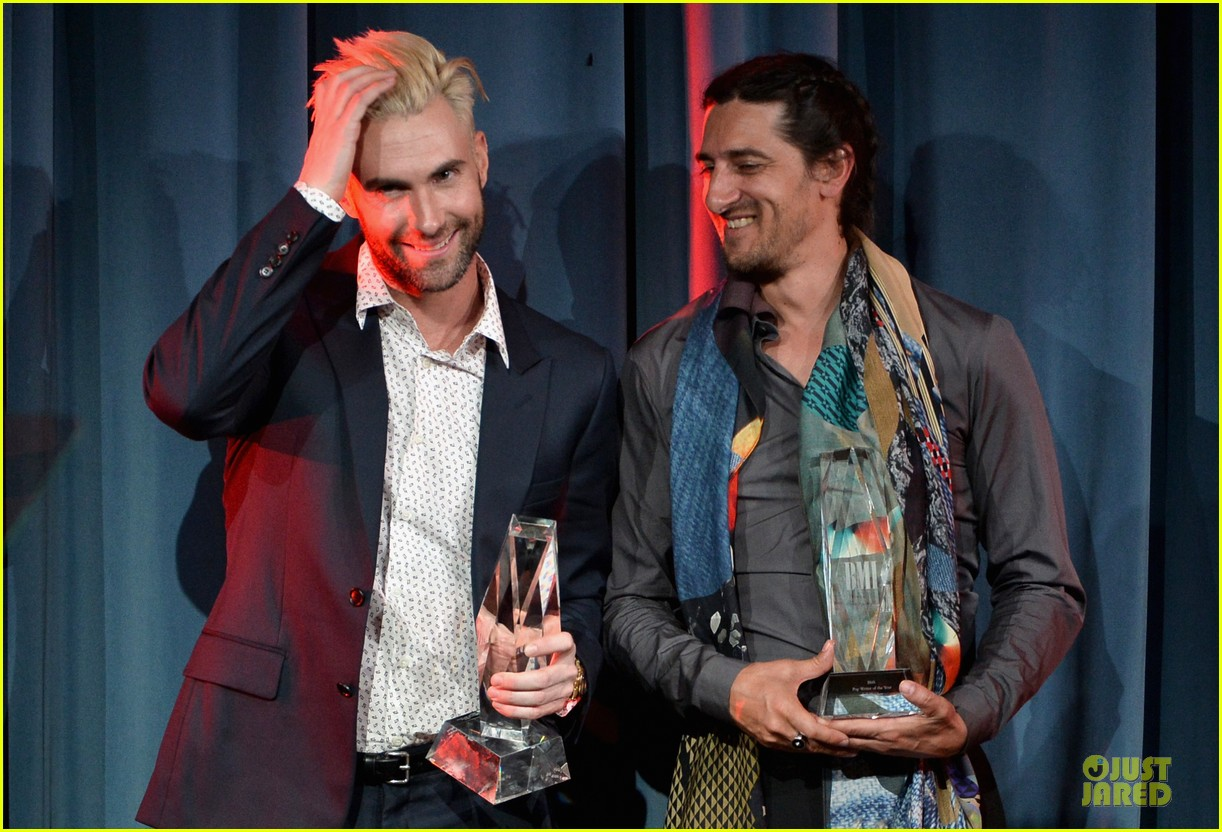 adam levine bmi songwriter of the year 09