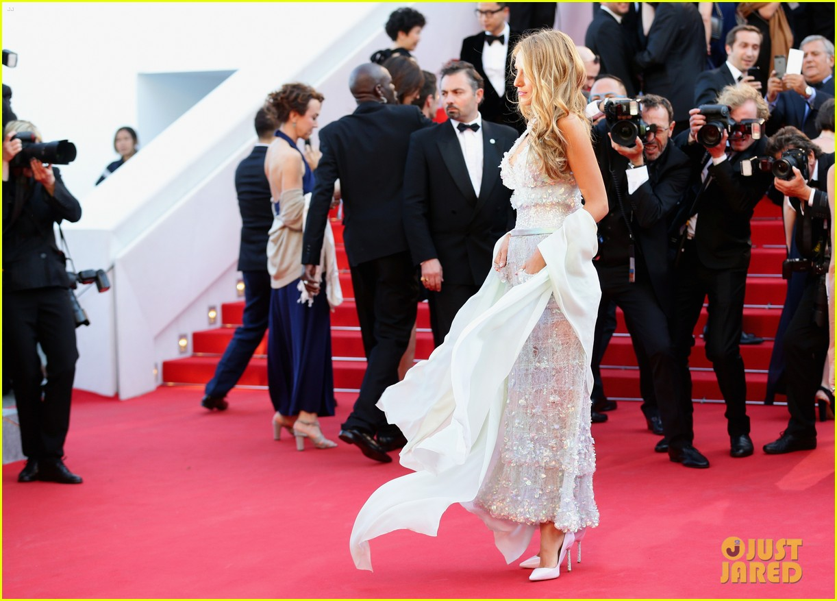 blake lively keeps her hands in her couture dress pockets 06