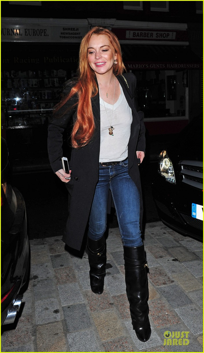 lindsay lohan keira knightley heat up chiltern firehouse 03