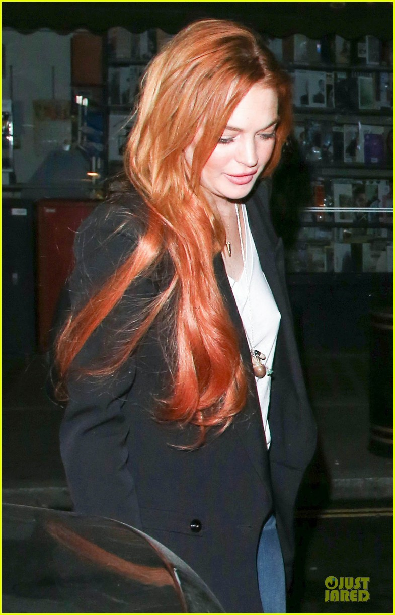 lindsay lohan keira knightley heat up chiltern firehouse 06