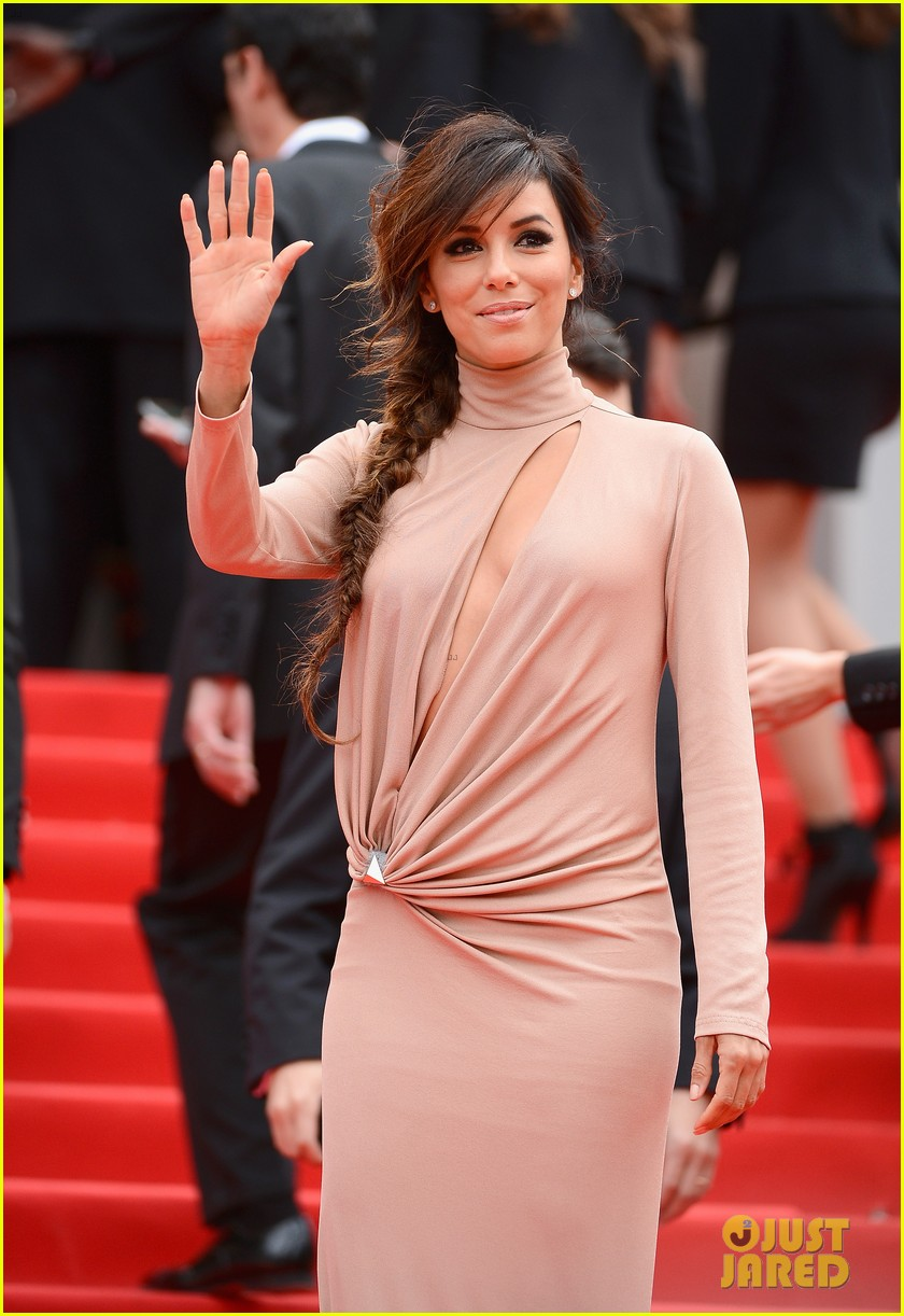 eva longoria riley keough foxcatcher cannes premiere 10