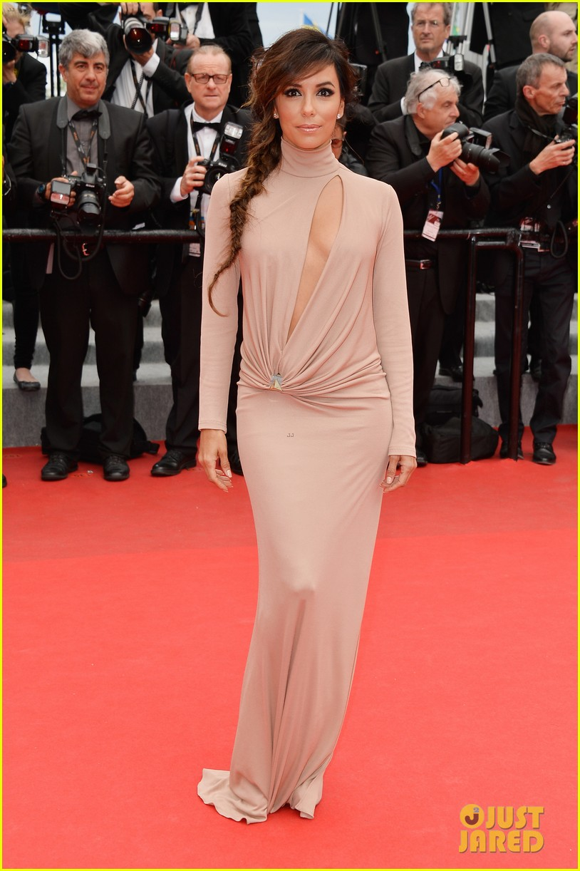 eva longoria riley keough foxcatcher cannes premiere 23