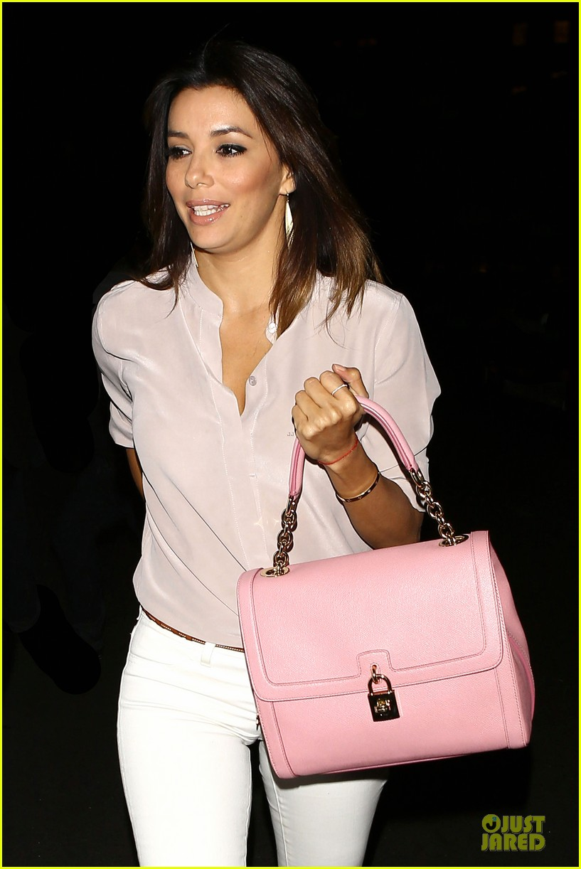 eva longoria jose baston palm of hand 203121467