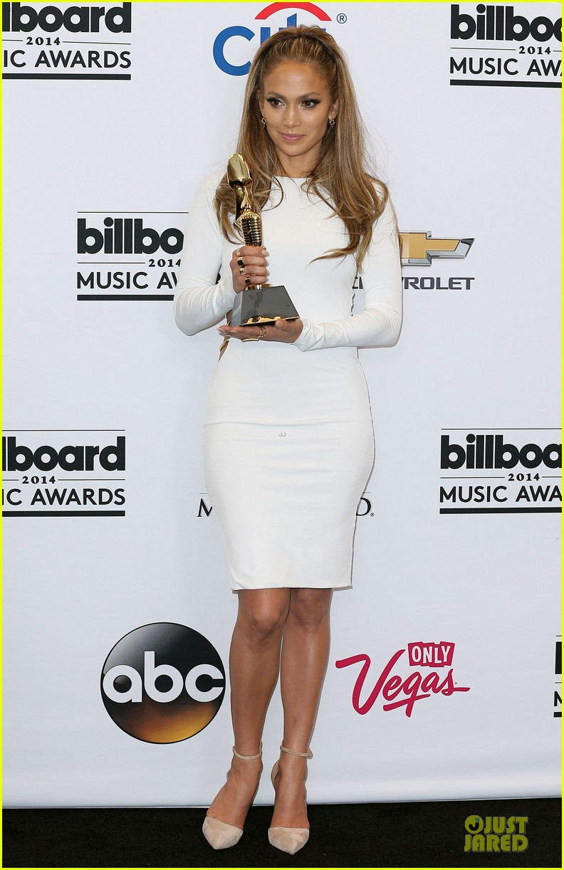 jennifer lopez vision white billboard press room 013117070