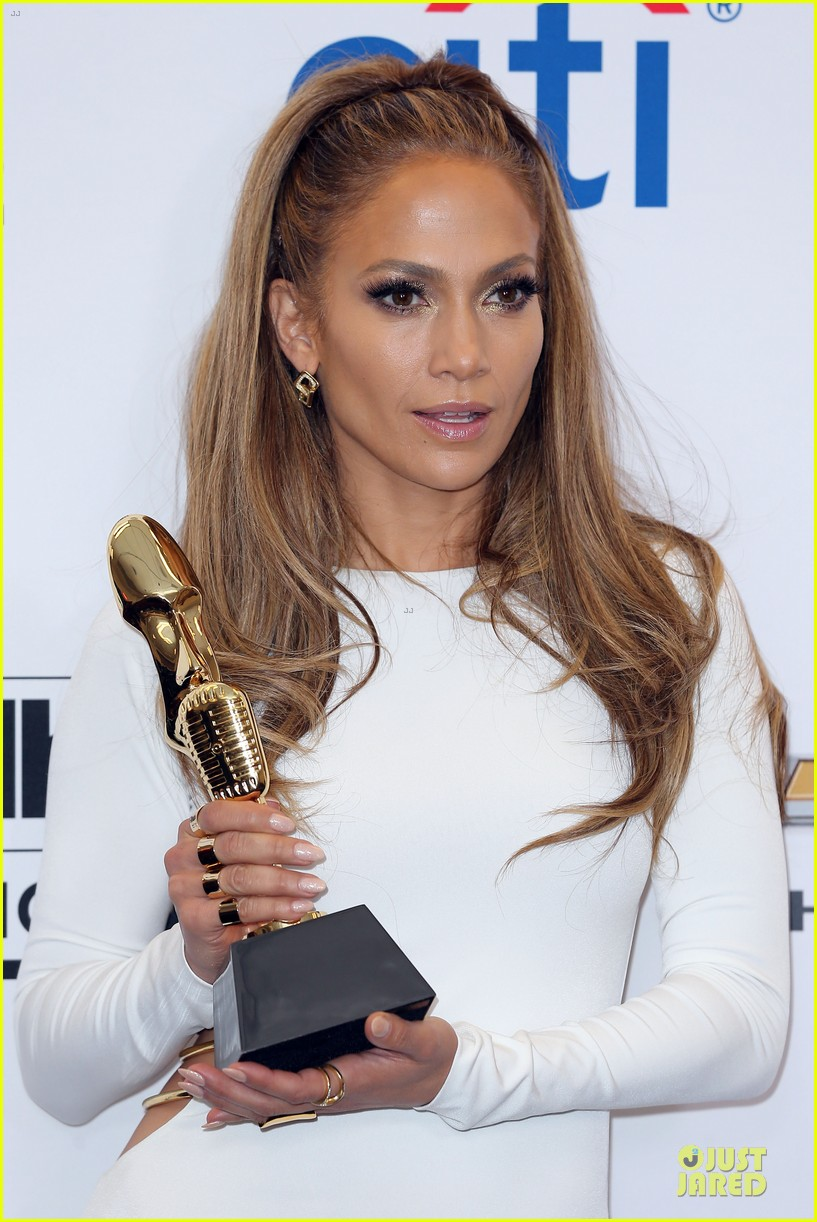 jennifer lopez vision white billboard press room 063117075