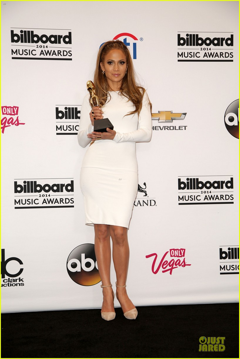 jennifer lopez vision white billboard press room 143117083