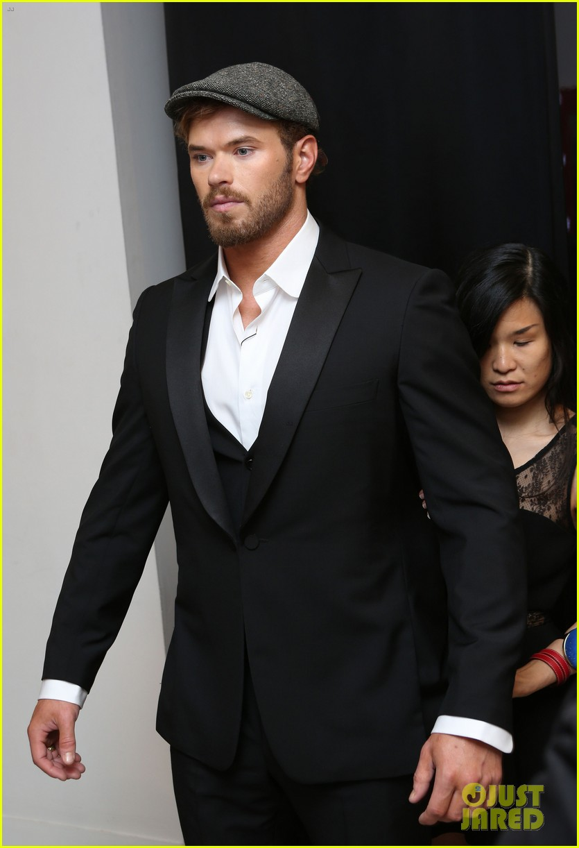kellan lutz cannes break relax pool 12