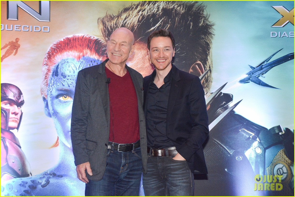 james mcavoy joins patrick stewart in sao paulo for x men press 05