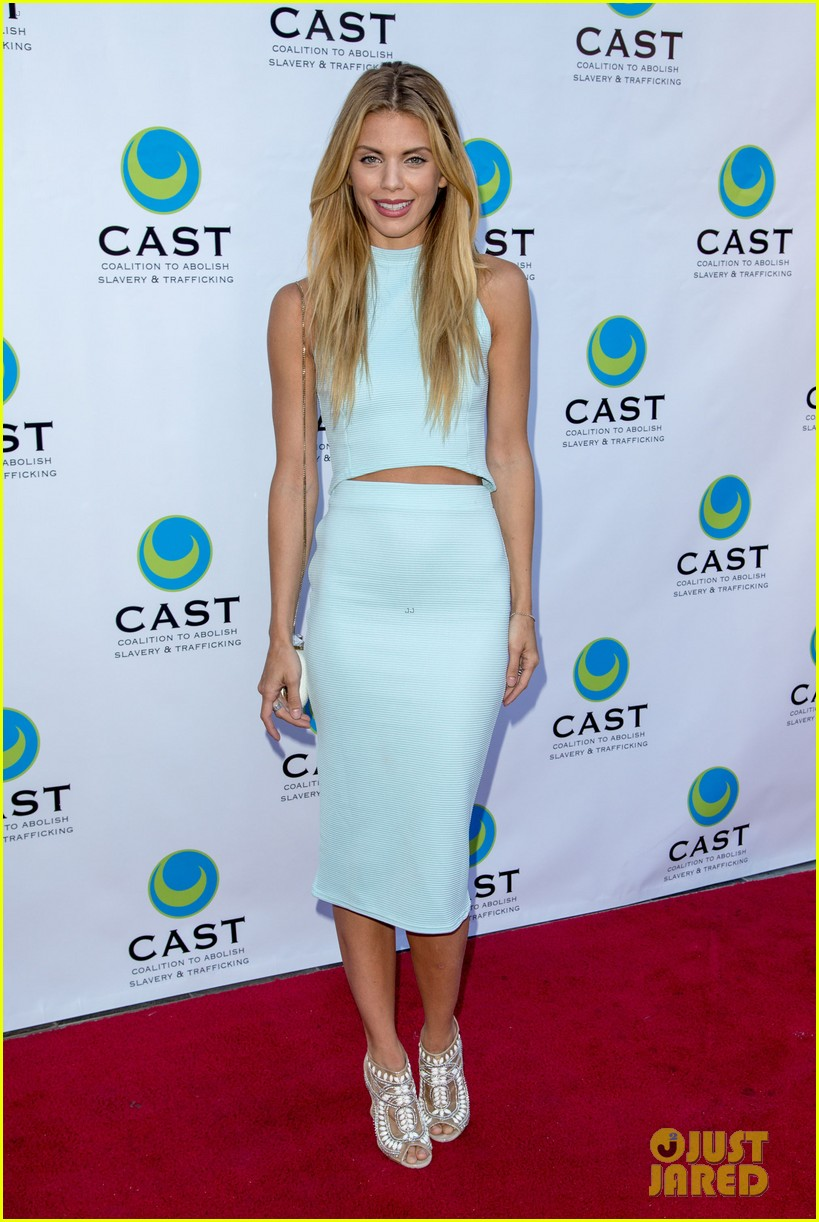 annalynne mccord makes public appearance at slavery to freedom gala 01