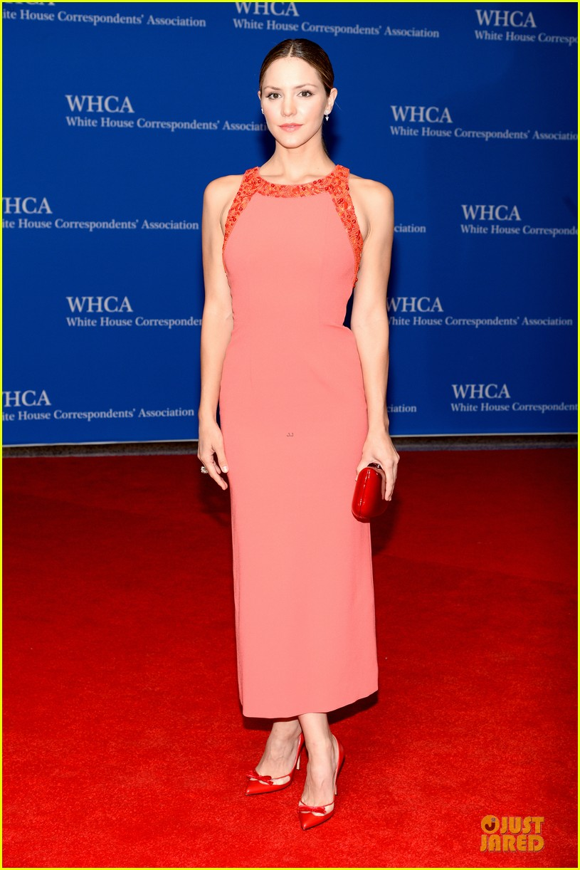 katharine mcphee white house correspondents dinner 2014 01