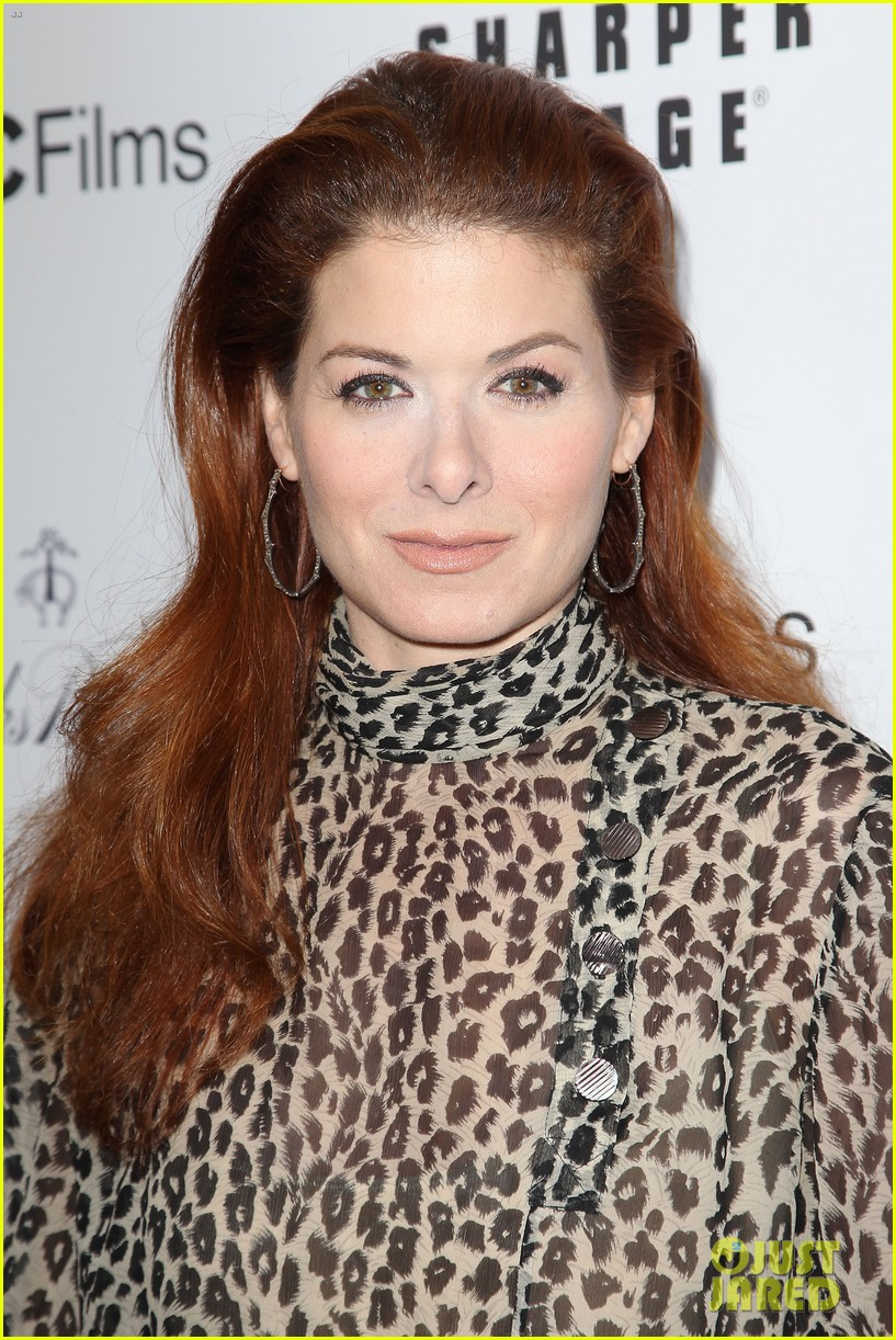 debra messing shows her support for philip seymour hoffman at gods pocket screening 12